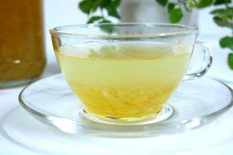 ゆず茶でホッと温まる