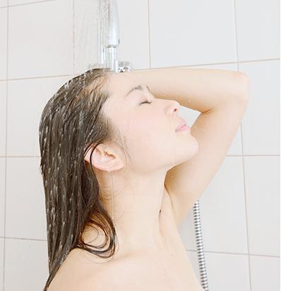 重炭酸シャワー洗浄法