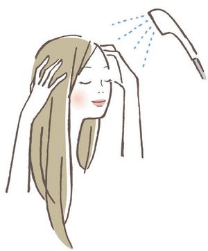シャワー洗浄